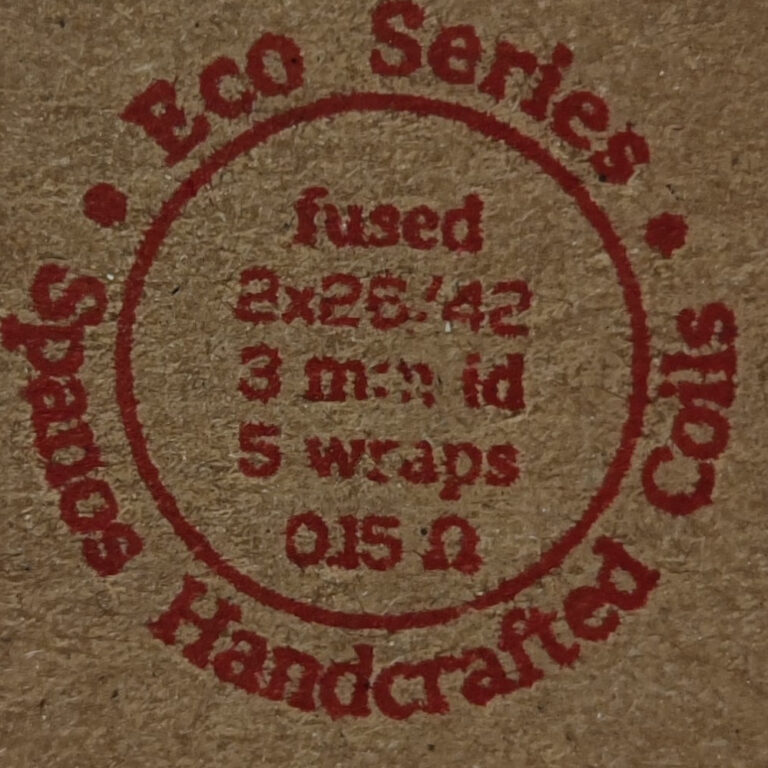 Fused 2*26/42 0.15ohm Eco Series by Spanos Coils TrustVape