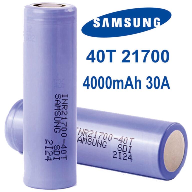 Samsung 40T Battery TrustVape
