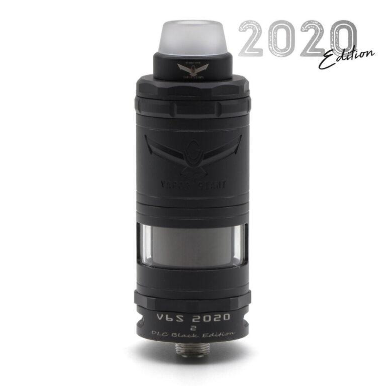 V6S RTA 23mm 2020 - DLC Black Edition By Vapor Giant TrustVape