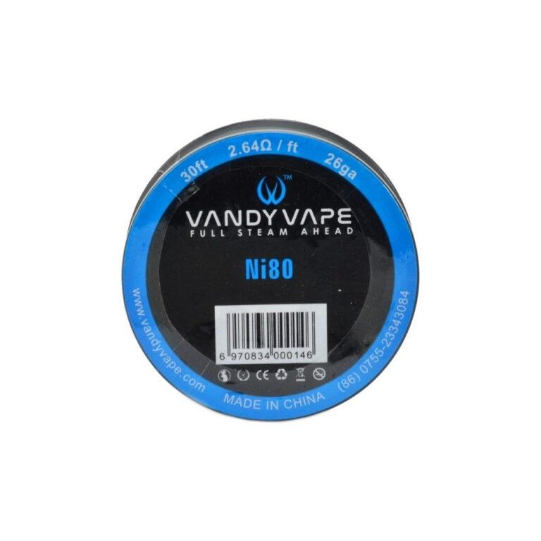 Ni80 26GA Wire by Vandyvape TrustVape