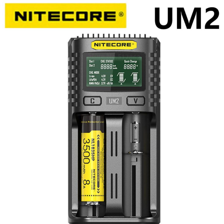 Nitecore UM2 Battery Charger TrustVape